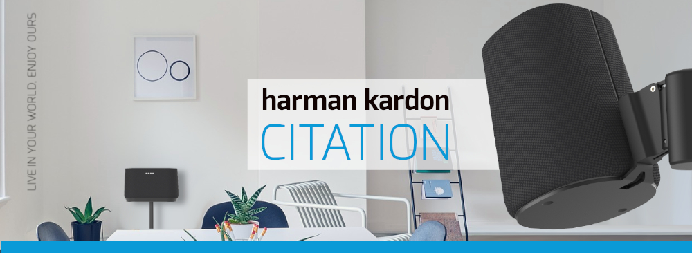 Muurbeugels voor harman kardon Citation speakers