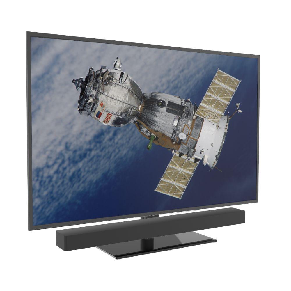 Draaibare Multi fit Tv voet geschikt voor Soundbar & televisie - max 30kg