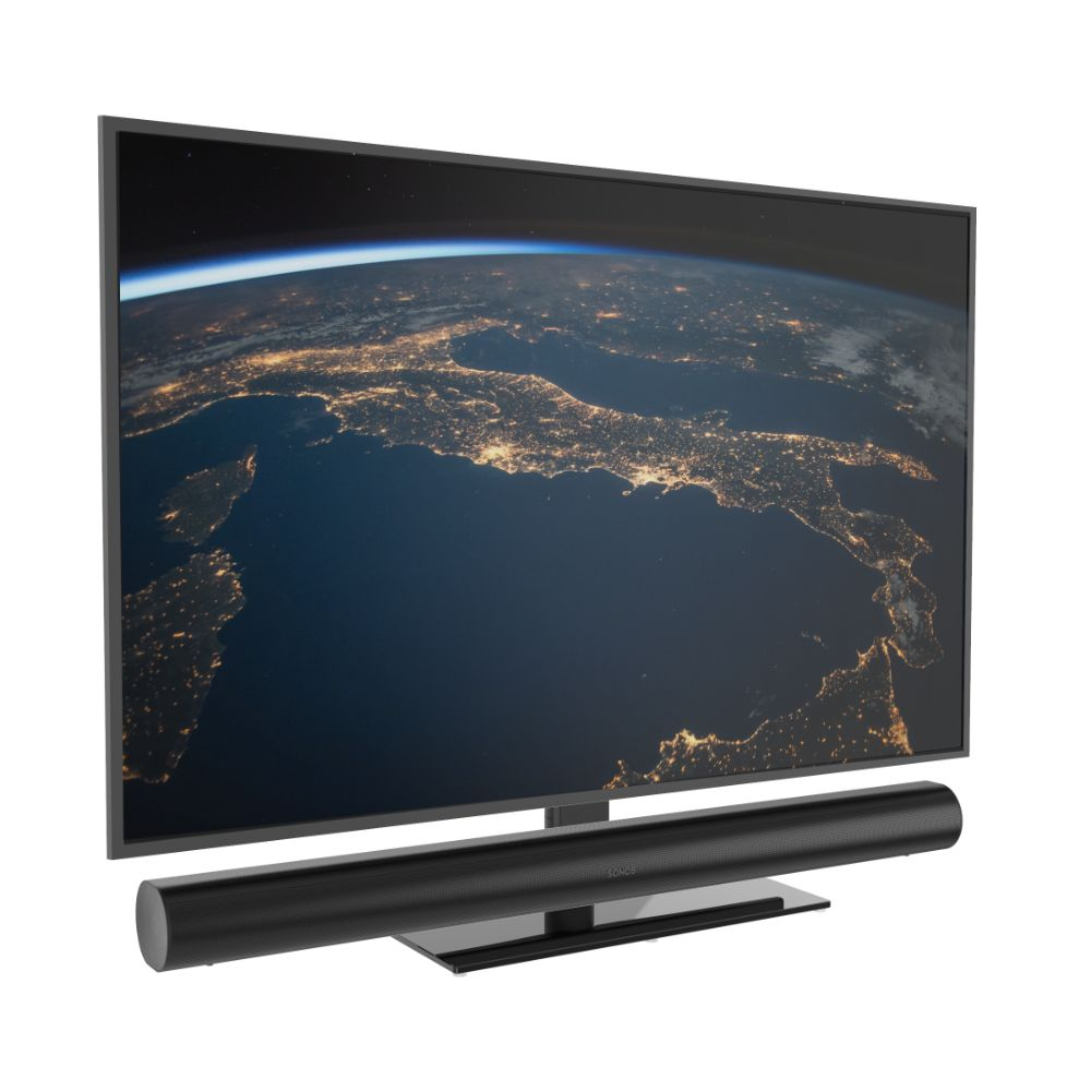 Cavus draaibare tv voet voor Sonos Arc soundbar en televisie