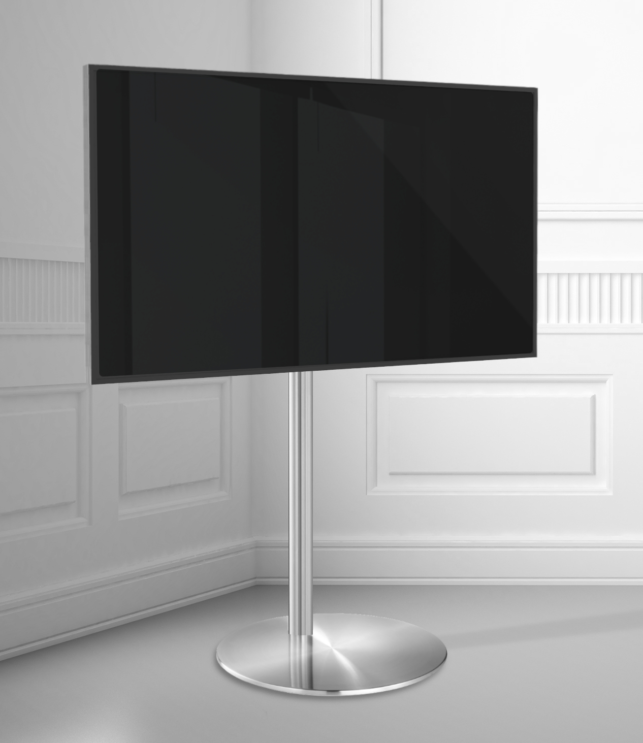 Tv Vloerstandaard Cavus Sphere [S] 100CM RVS