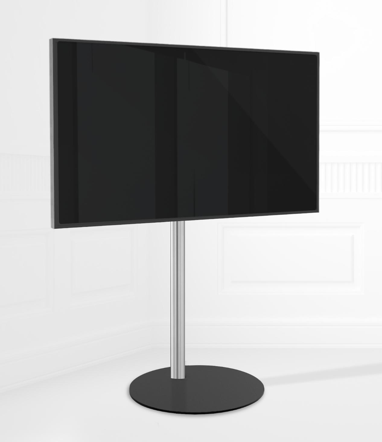 Tv Vloerstandaard Cavus Sphere100(S) RVS & Trendy Staal