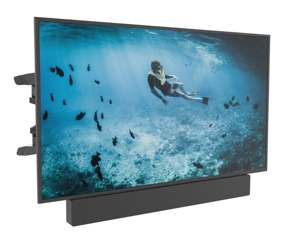 Universele Full Motion Tv Muurbeugel geschikt voor Soundbar & Tv