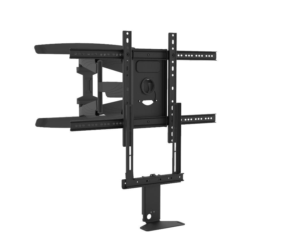 Cavus Full Motion Tv Muurbeugel geschikt voor sonos beam zwart & Tv - 35kg