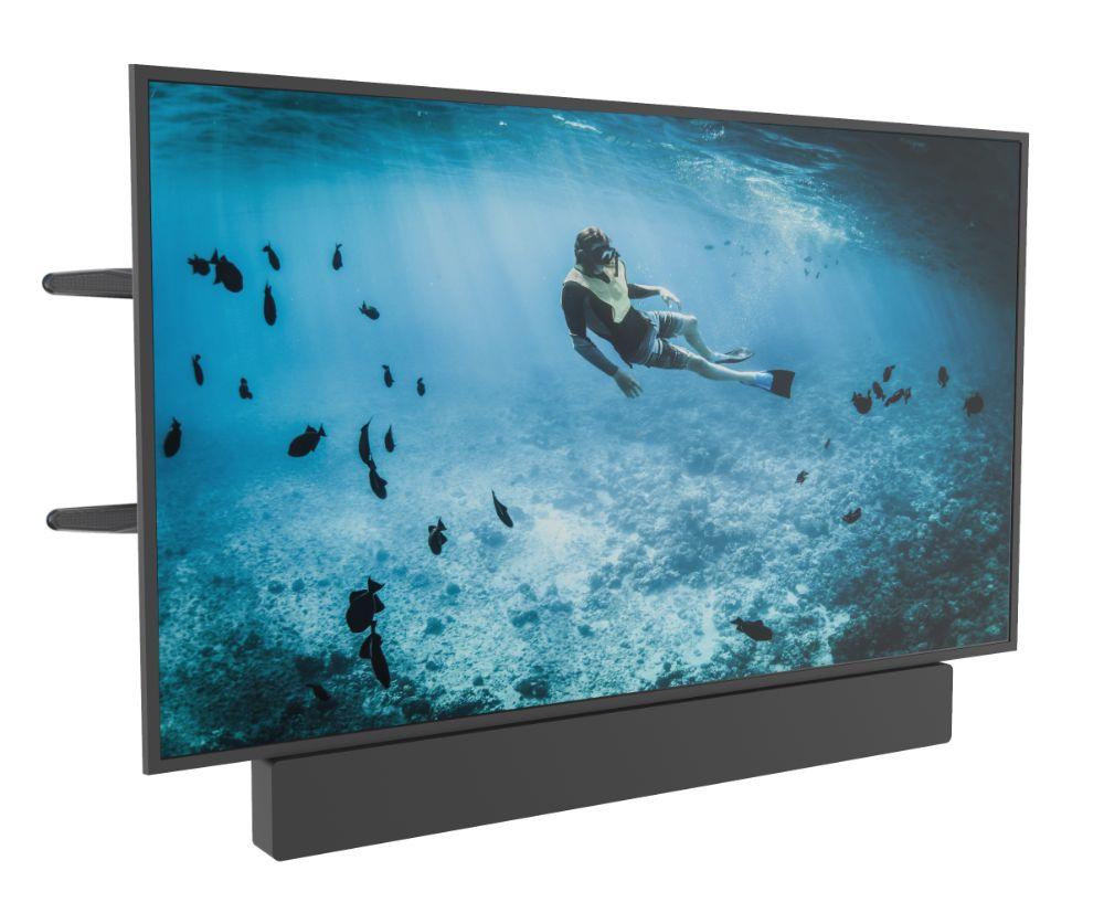 Draaibare muurbeugel geschikt voor 37 - 70 Inch TV & Soundbar