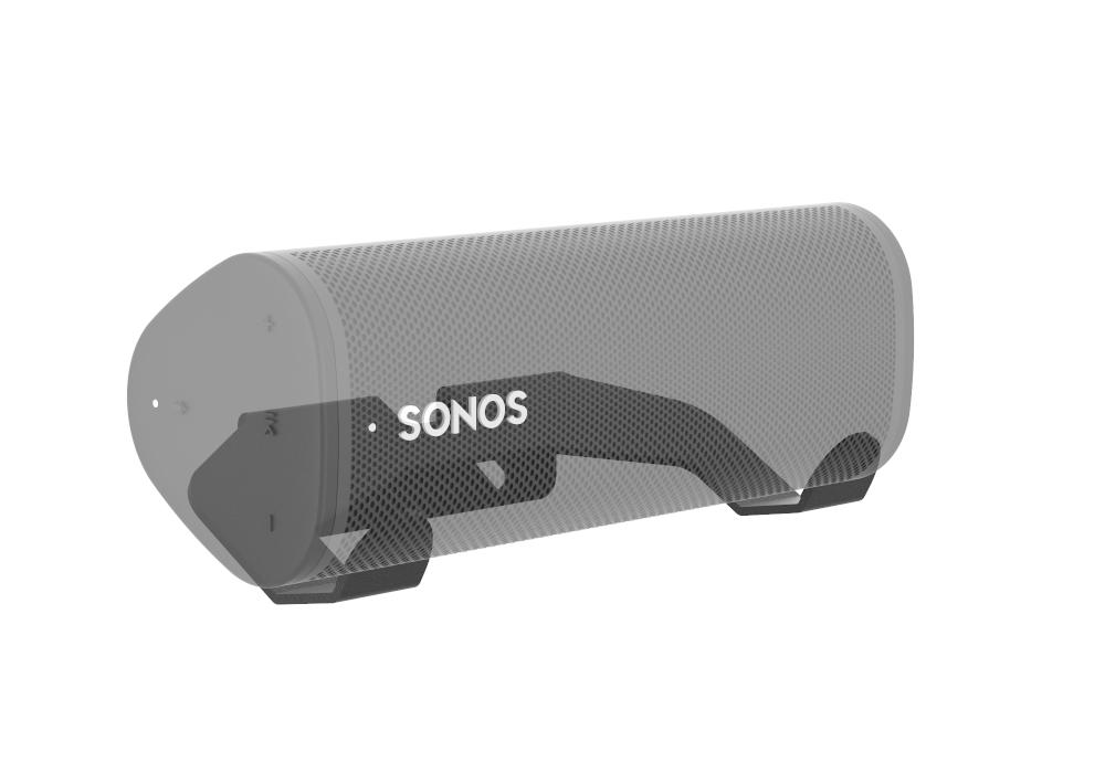 Muurbeugel geschikt voor de Sonos Roam - Zwart