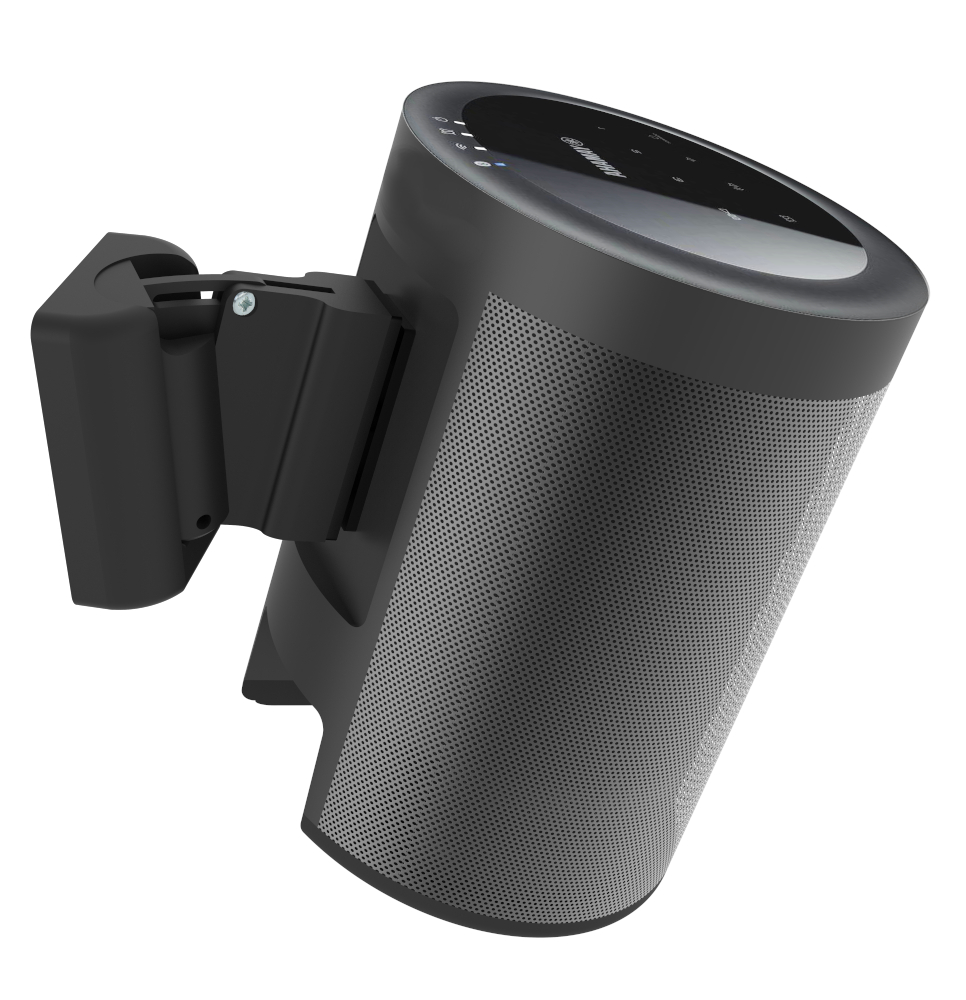 Full motion muurbeugel voor Yamaha Wx-021 MusicCast20 speaker zwart 2