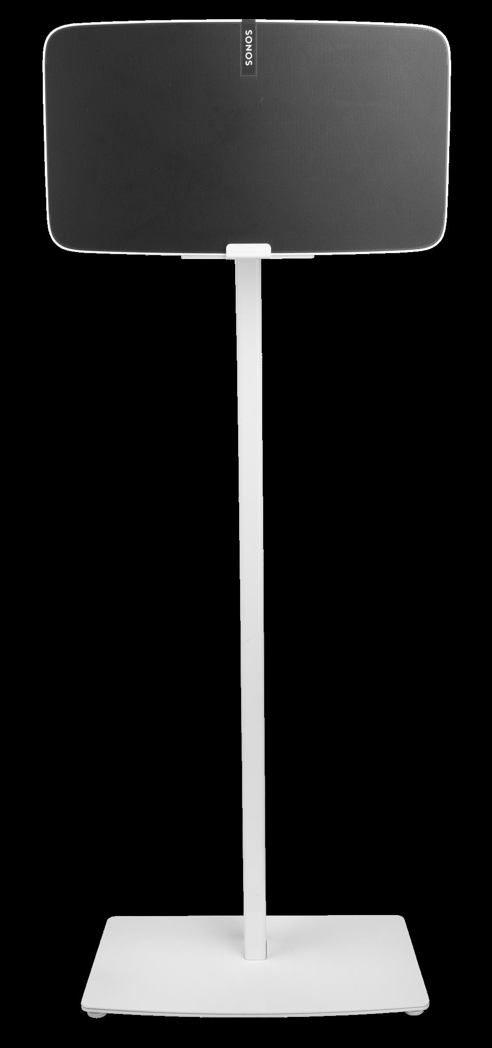Cavus Vloerstandaard voor Sonos Five / Play:5 wit