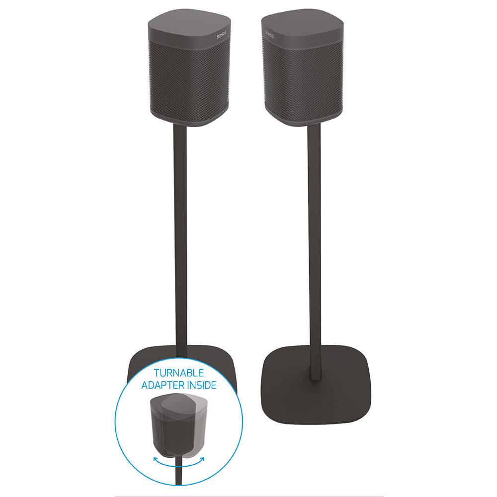 2 x Draaibare Speaker standaard voor Sonos ONE / One SL / Play:1