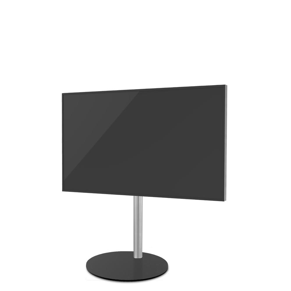 Tv Vloerstandaard Sphere zwart en RVS VESA 400x200