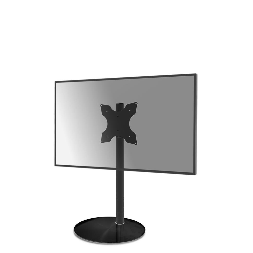 Tv Vloerstandaard Cavus Sphere100 Glas & Trendy Staal 400X200