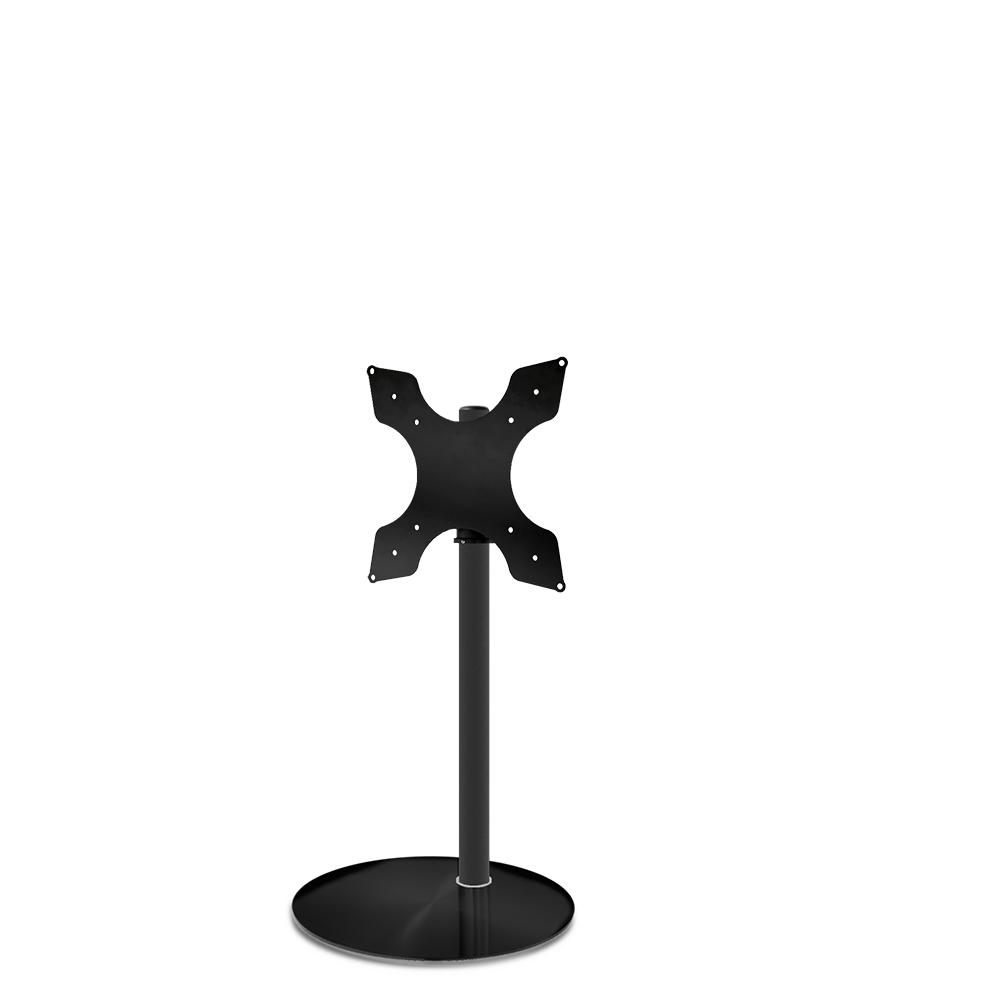 Tv Vloerstandaard Cavus Sphere100 Glas & Trendy Staal 400x400