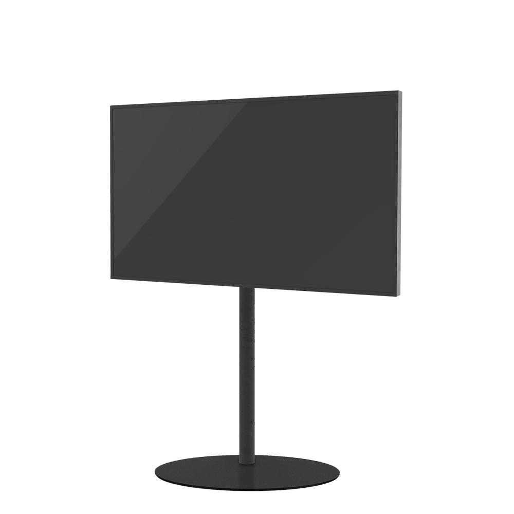 TV Standaard ELLIPS 120 TRENDY ZWART STAAL