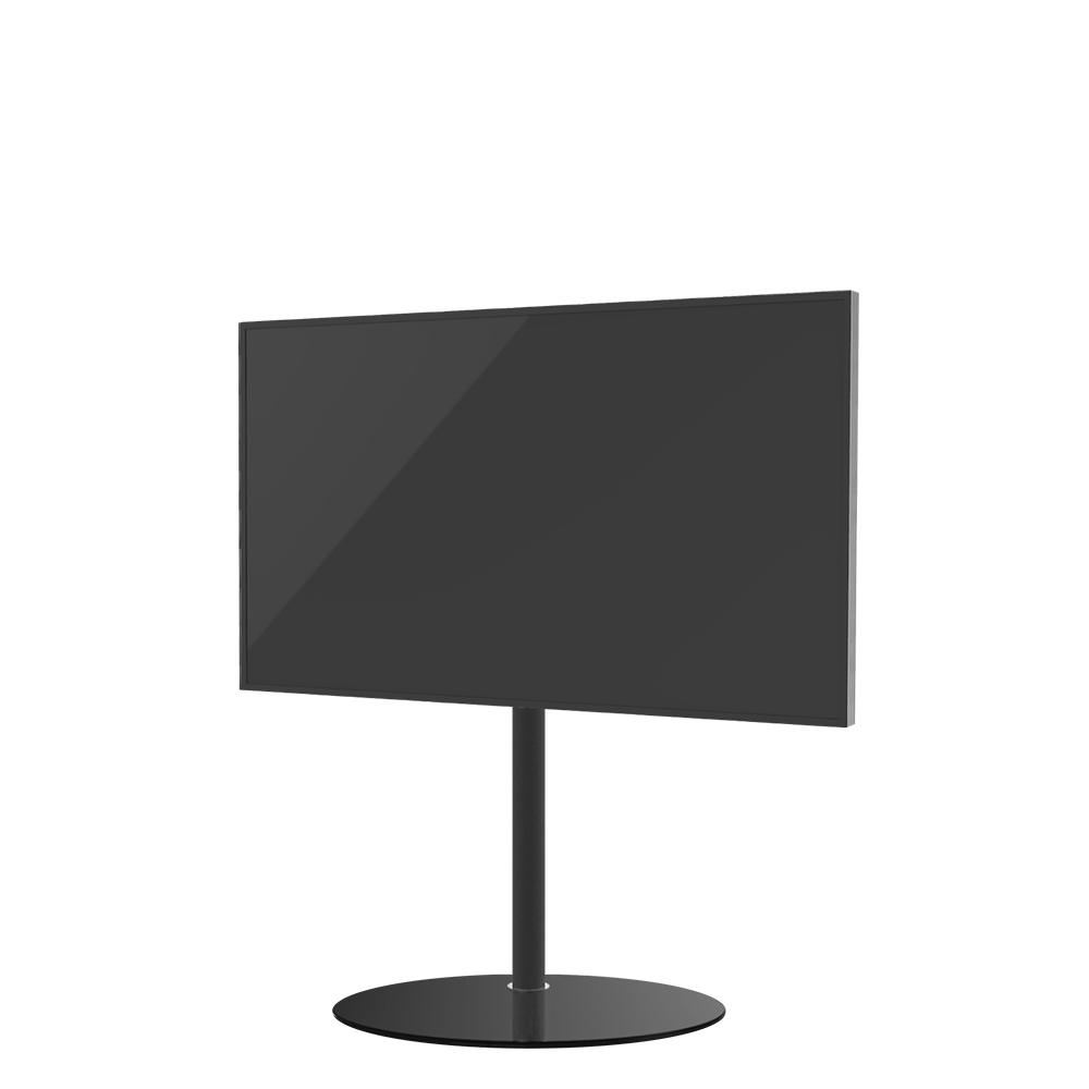 TV Standaard ELLIPS 100 Hoogglans Zwart Glas - Special edition