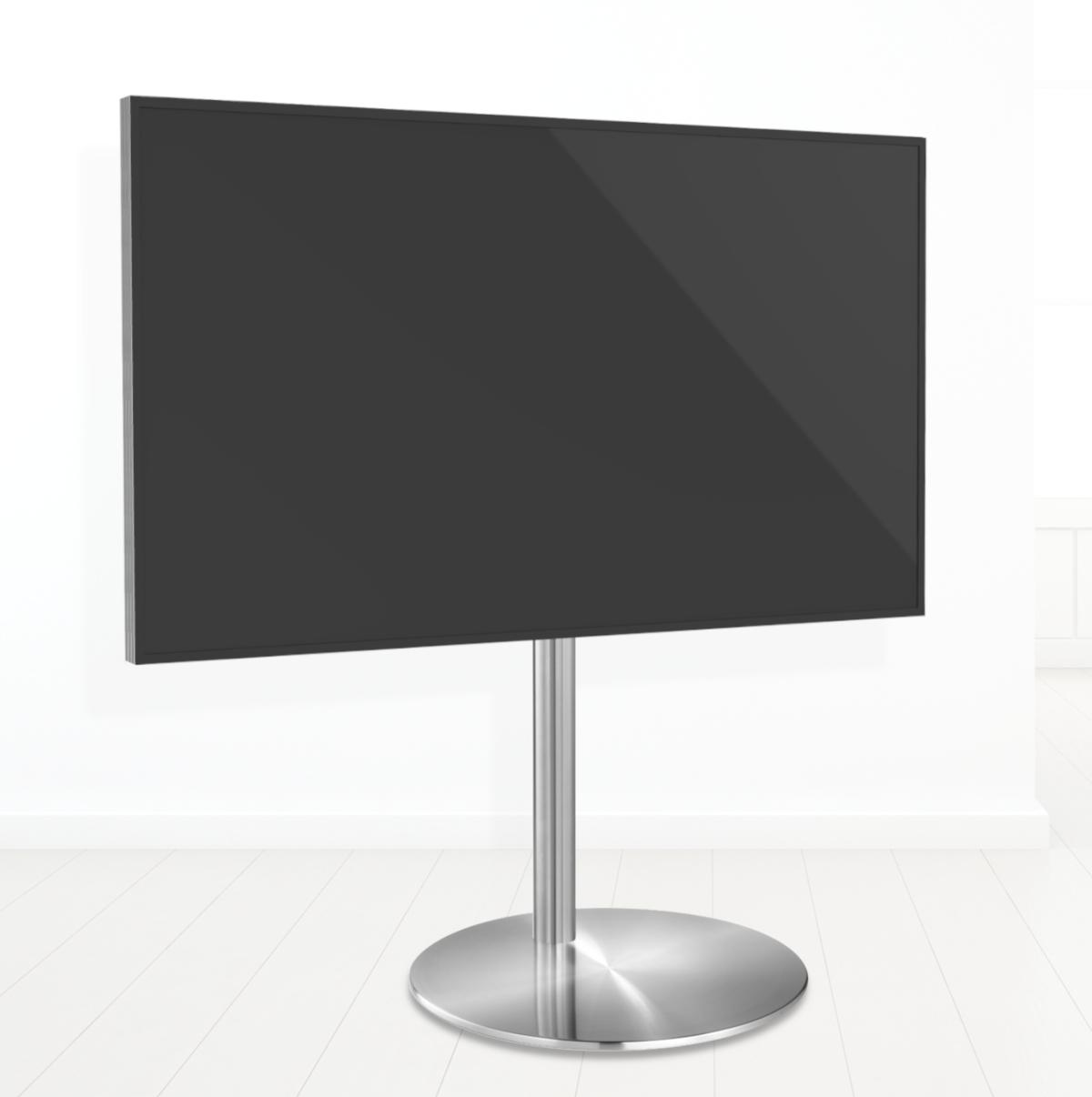 Tv vloerstandaard Sphere 100 RVS