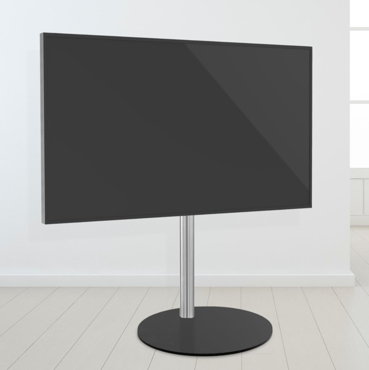 TV VLOERSTANDAARD CAVUS SPHERE100 Trendy Staal & RVS 400x300