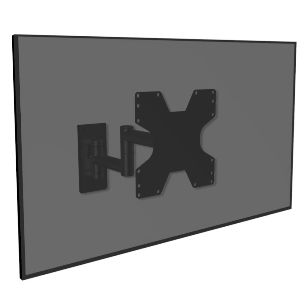 WMV2050 Design Black Steel Single - Trendy zwart staal